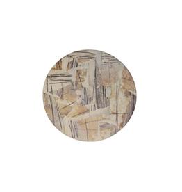 Highland Home Sous-verre ''modern art'' motif collage neutre