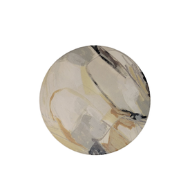 Highland Home Sous-verre ''modern art'' ''Singularité neutre''