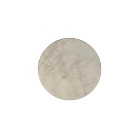 Highland Home Sous-verre ''modern art'' marbre blanc