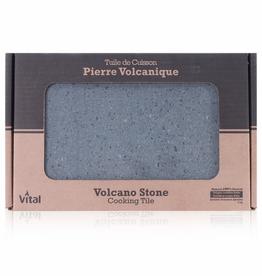 Vital Tuile de cuisson en pierre volcanique Vital 12X8''