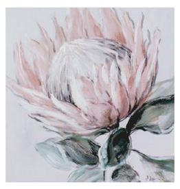 Canvas Protea 80 x 80cm