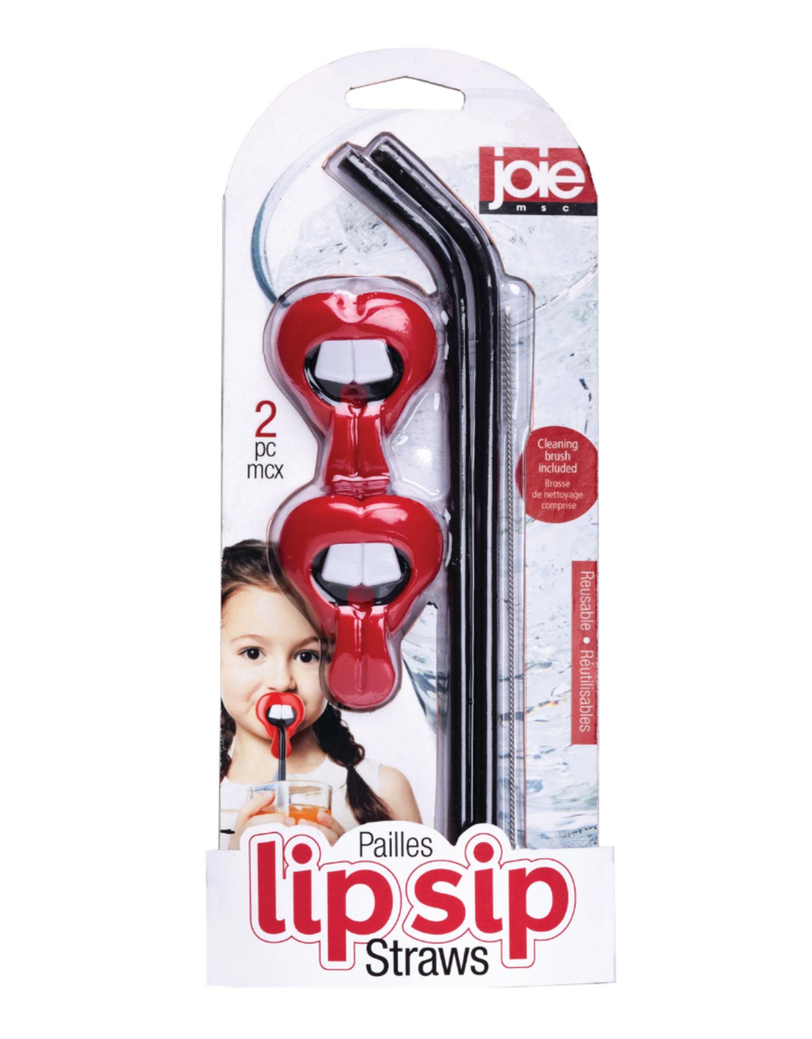 Joie Ens. 2 pailles réutilisables Lip Sip