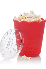Joie Bol à popcorn pour micro-ondes rouge