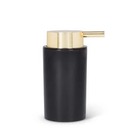 Abbott Pompe à savon noir et or