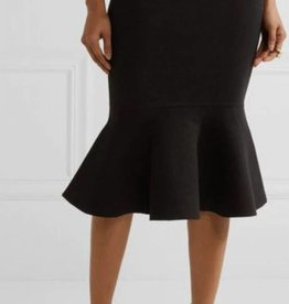 BellaNiecele Sophisticated Pencil Flounce Skirt