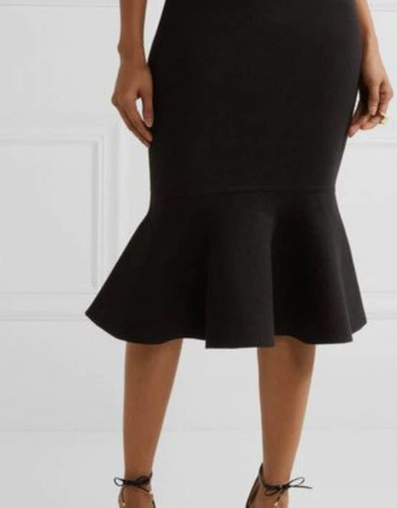 BellaNiecele Sophisticated Pencil Flounce Skirt