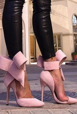 Big Bow Tie Pumps- Bowknot can be Removed