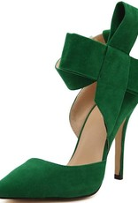 BellaNiecele Big Bow Tie Pumps- Bowknot can be Removed