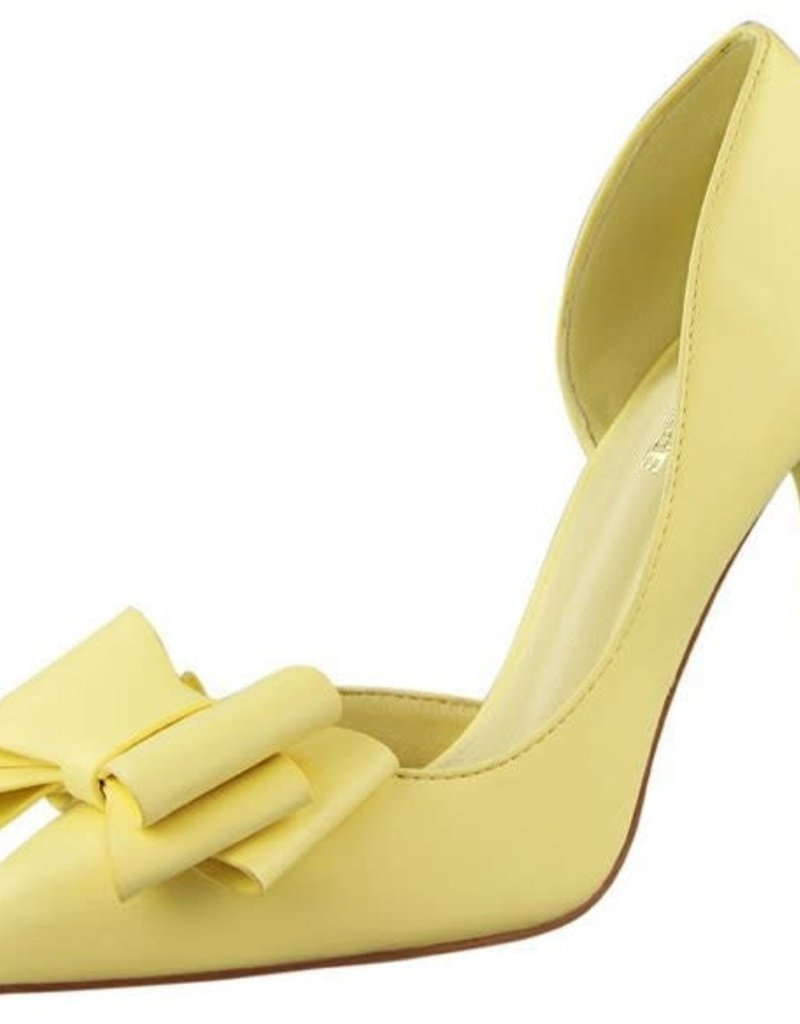 delicate sweet bowknot side hollow pointed Heels