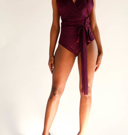 Tie Up One Piece Swim/Body Suit