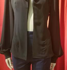 Exaggerated Lantern  Sleeve Jacket