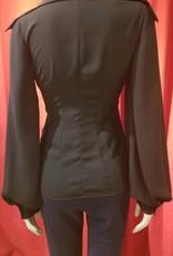 Exaggerated Lantern  Sleeve Jacket