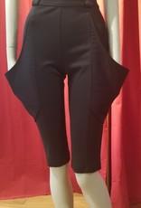High Waist Plunge Wide Pocket Shorts