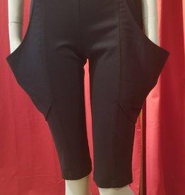 BellaNiecele High Waist Plunge Wide Pocket Shorts