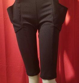 High Waist Plunge Pocket Shorts
