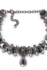 Collar Necklace & Pendant Choker