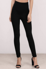High Waist Fitted Trouser