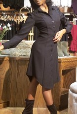 Essential Fitted Button Down Dress Jacket