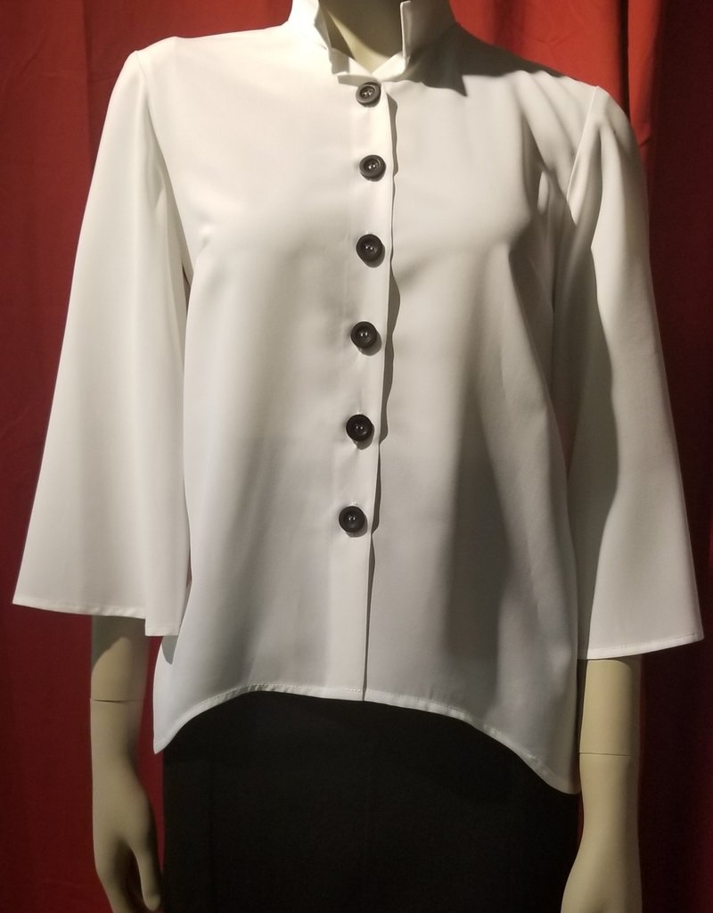 Bell Sleave Button Down Blouse