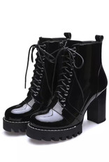 Leather Lace Up Boot (with or without fur)