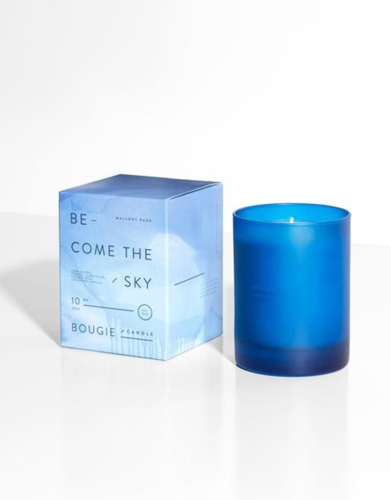 MALLORY PAGE Become the Sky Candle