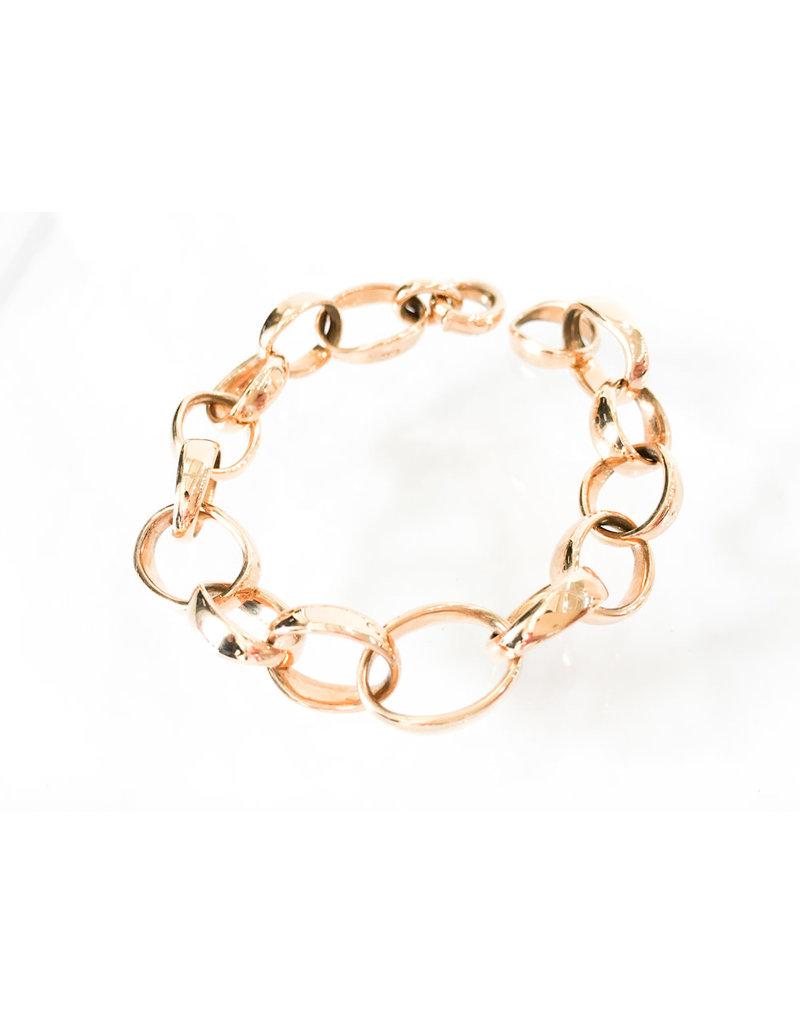 POMELLATO Rose Gold Link Bracelet