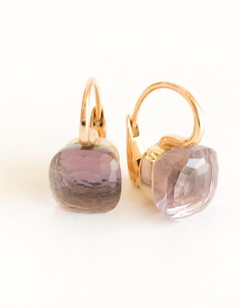 POMELLATO Rose de France Nudo Earrings