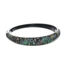ALEXIS BITTAR Skinny Tapered Bangle - Abalone
