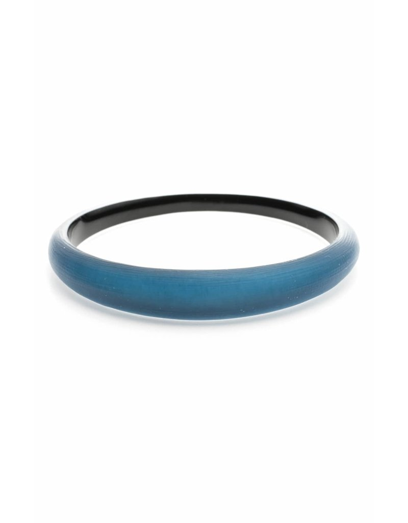 ALEXIS BITTAR Skinny Tapered Bangle - Ocean