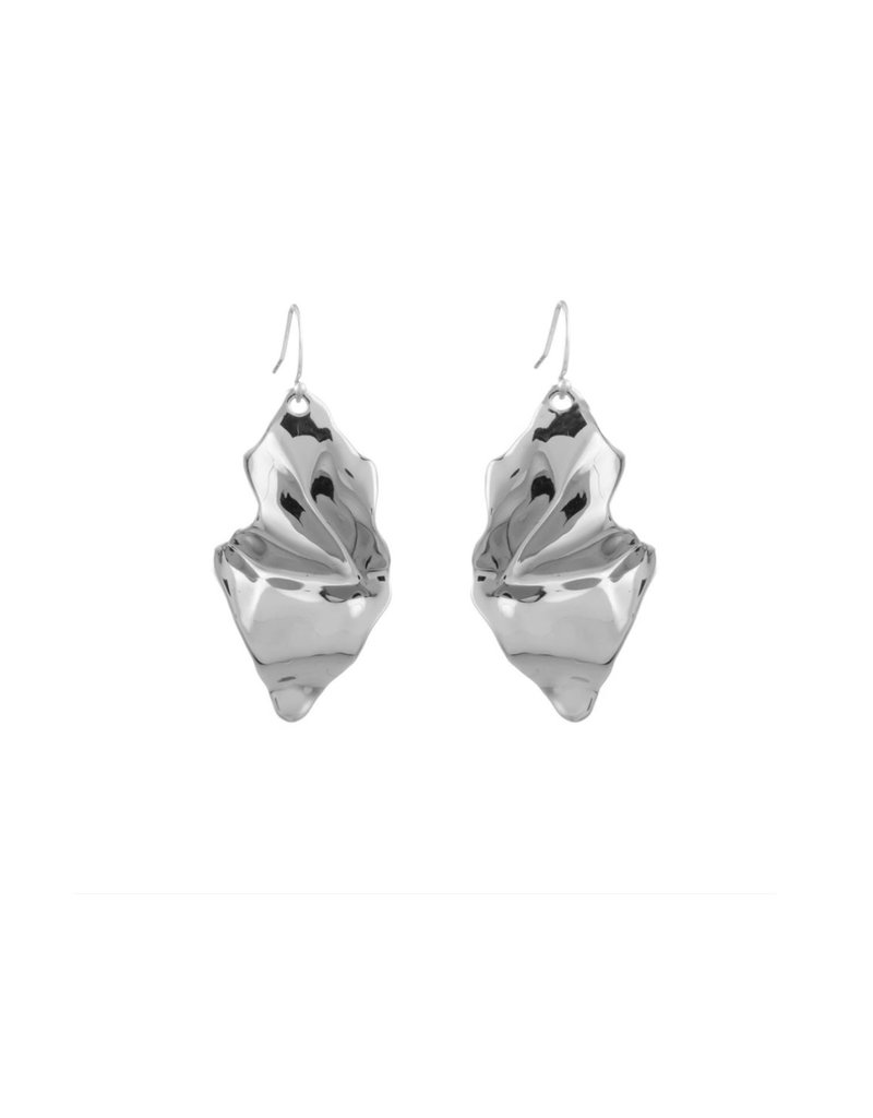 ALEXIS BITTAR Crumpled Wire Earring