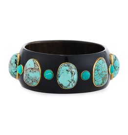 ASHLEY PITTMAN Michezo Bangle Dark Horn