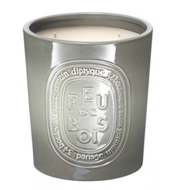 DIPTYQUE Feu De Bois Outdoor Ceramic Pot Candle