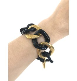 ASHLEY PITTMAN Salama Bracelet Dark Horn