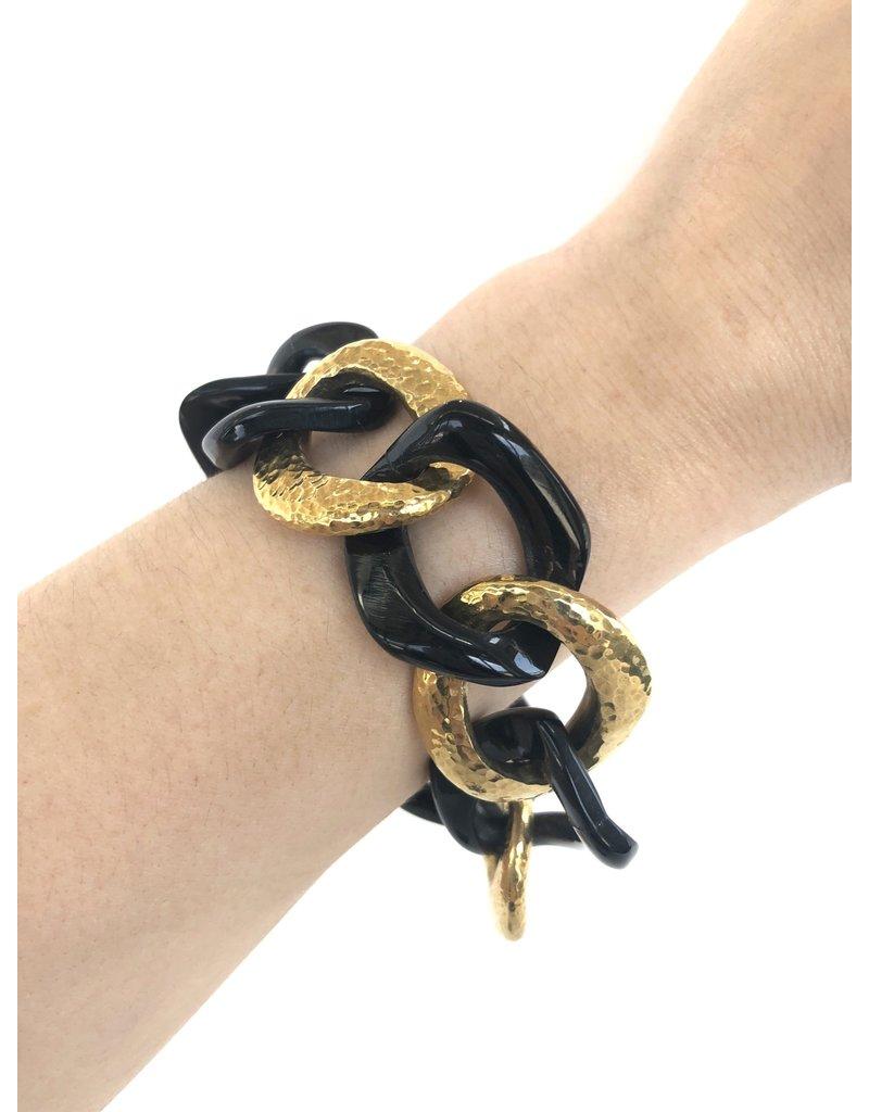 ASHLEY PITTMAN Salama Bracelet Dark Horn
