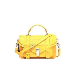 PROENZA SCHOULER PS1 Tiny - Lemon Chrome