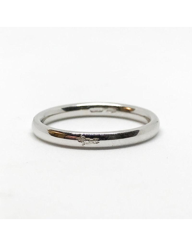 POMELLATO 18Karat White Gold Lucciole 1 Diamond Ring