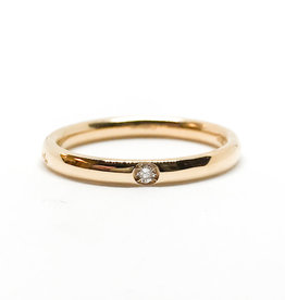 POMELLATO Rose Gold Lucciole 1 Diamond Band