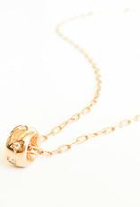 POMELLATO Rose Gold and Diamond Iconica Pendant Necklace