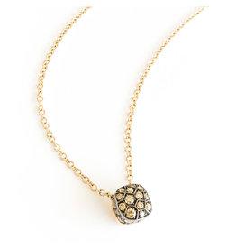 POMELLATO Brown Diamond Nudo Necklace