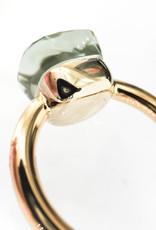 POMELLATO Prasiolite Nudo Ring