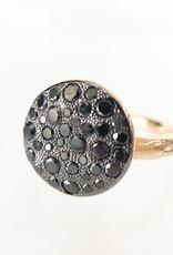 POMELLATO Black Diamond Sabbia Ring