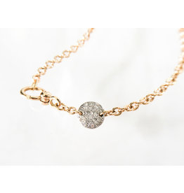 POMELLATO White Diamond Sabbia Necklace