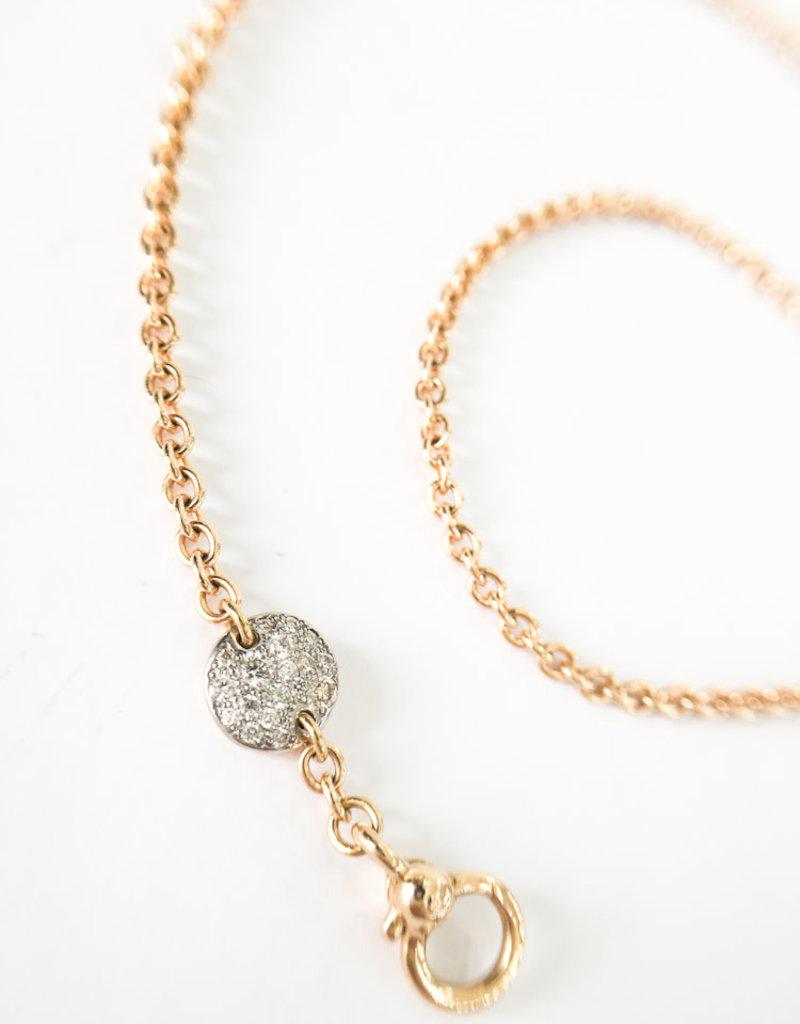 POMELLATO White Diamond Sabbia Necklace