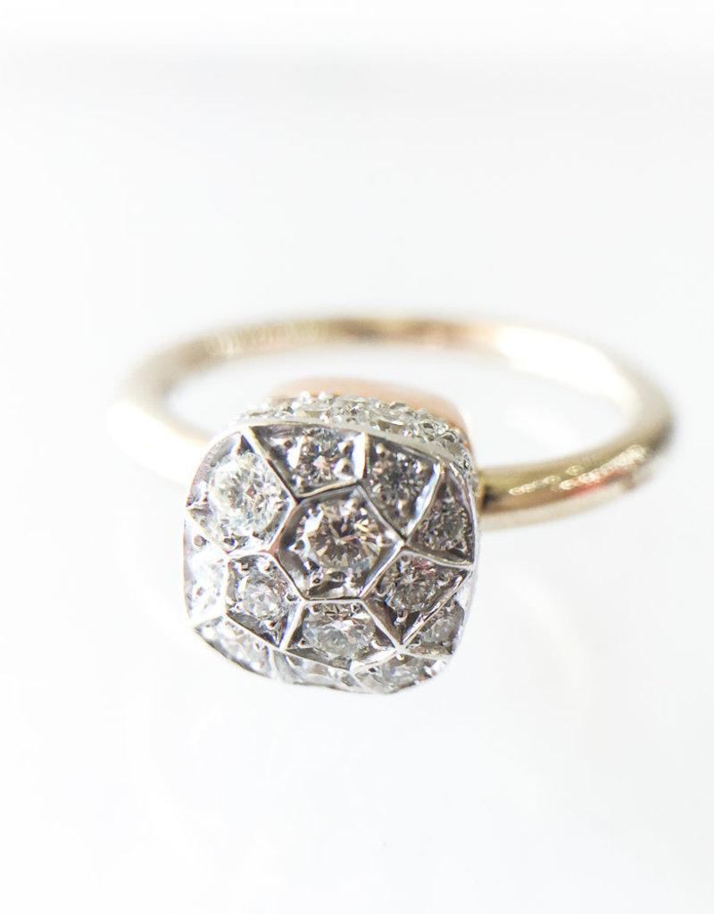 POMELLATO Diamond Nudo Ring