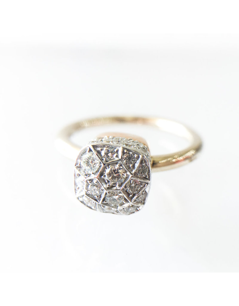 POMELLATO Diamond Nudo Ring