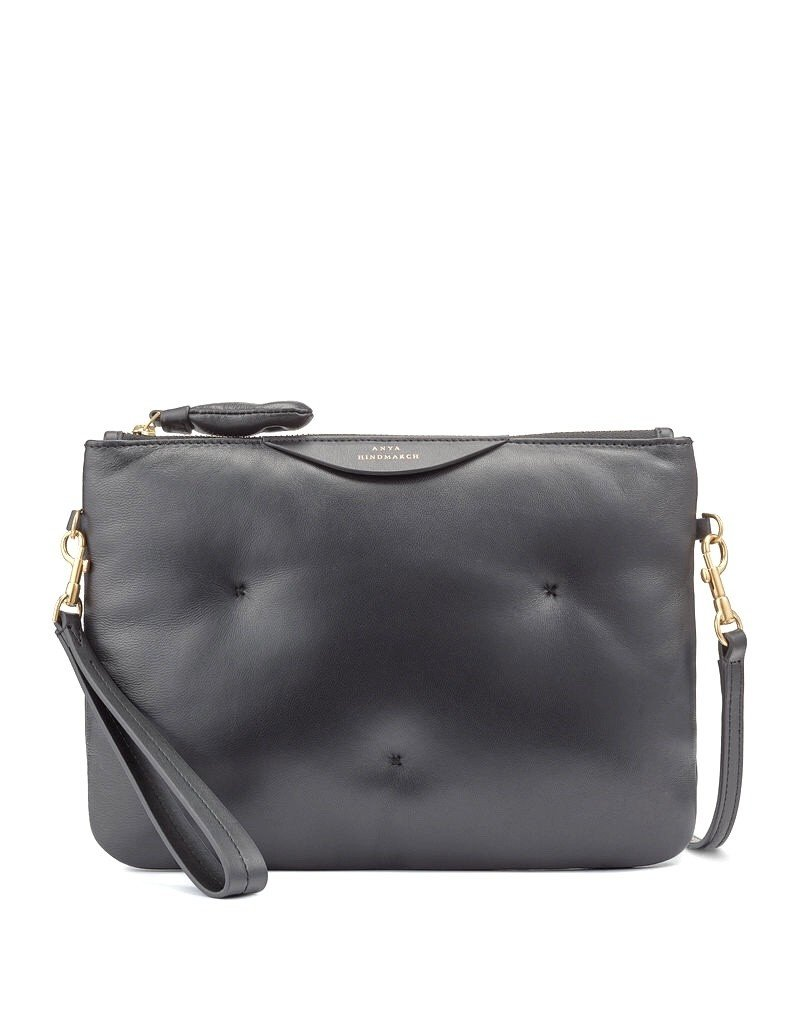 ANYA HINDMARCH Chubby Crossbody Pouch Black