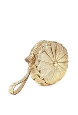 ANYA HINDMARCH Pillow Clutch Light Gold
