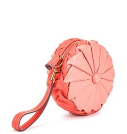 ANYA HINDMARCH Pillow Clutch - Salmon