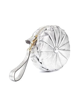 ANYA HINDMARCH Pillow Clutch Silver