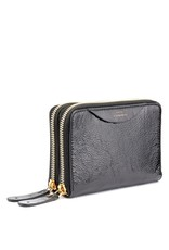 ANYA HINDMARCH Stack Double Wallet Black